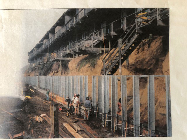 1983 Sea Wall Construction